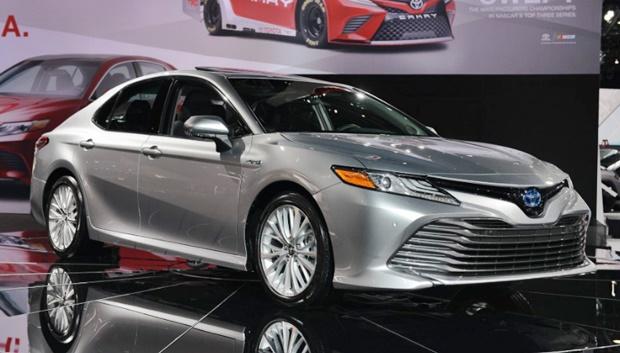 2019 Toyota Camry Detroit Auto Show - Exterior