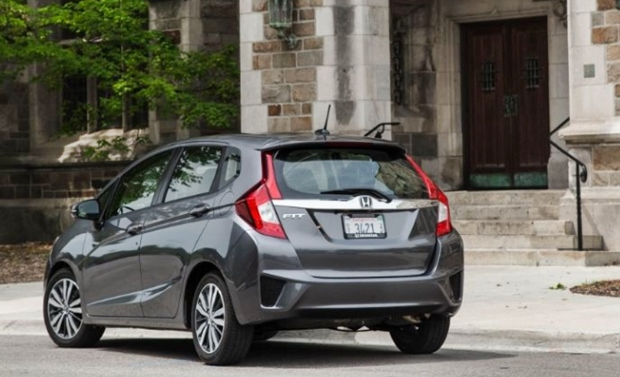 2019 Honda Fit Rear View