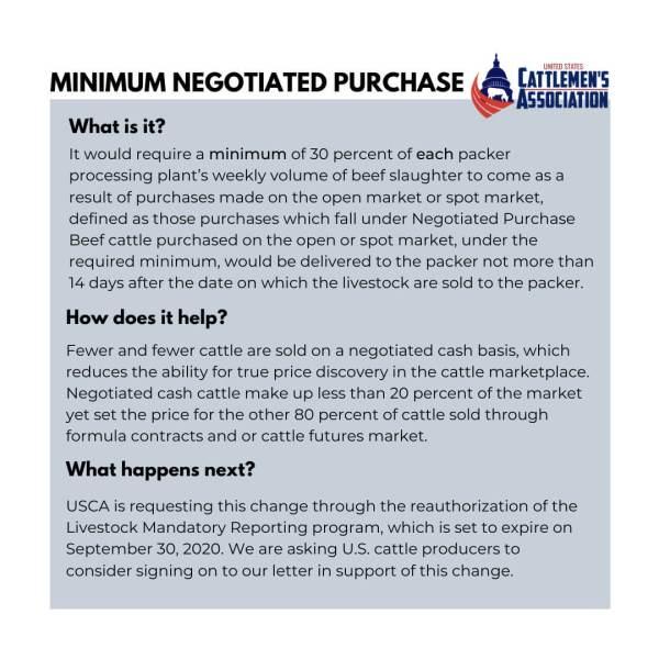 Minimum Negotiated Purchase Explained