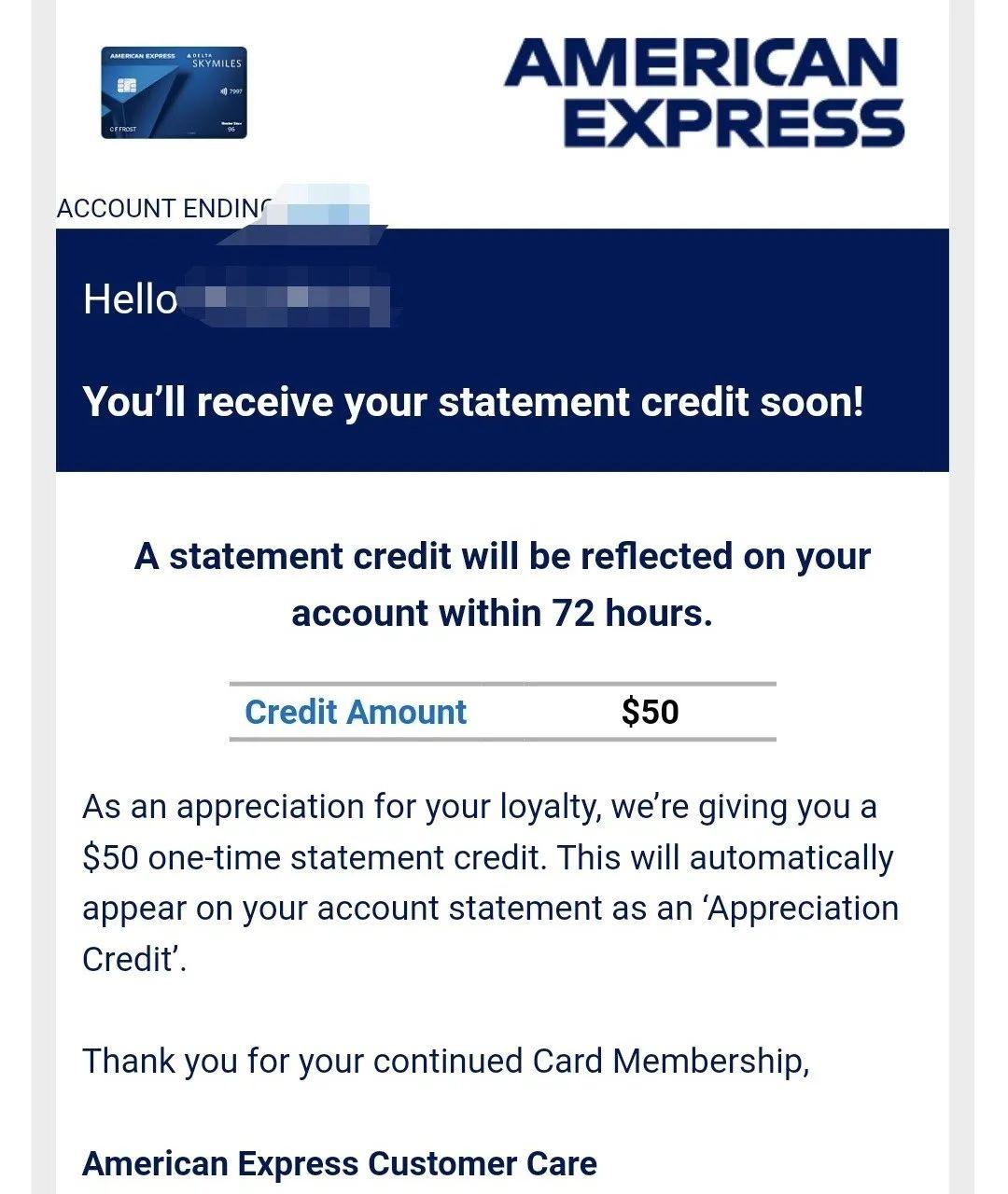 「截止05/05,10K+$200开卡奖励】Amex Delta SkyMiles® Blue 信用卡