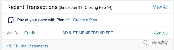 【Surpass->Aspire,次年年费honor了$95】Amex Hilton Aspire 信用卡【150K开卡奖励】