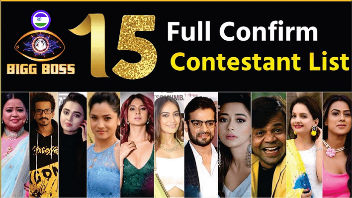 Bigg Boss 15 Contestants List 2021 With Photos, Names Available Now