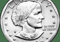 1999 Susan B Anthony Dollar