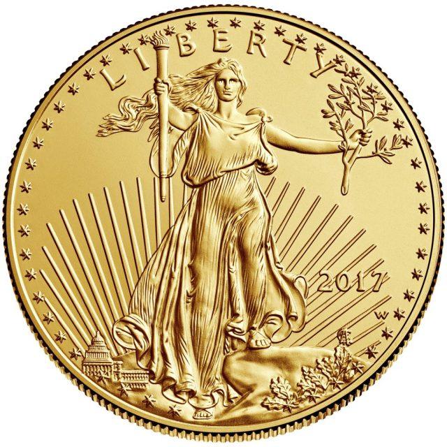 2017 Gold American Eagle