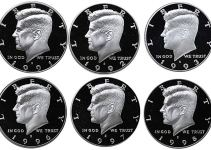1990-S Through 1999-S Proof Kennedy Half Dollar