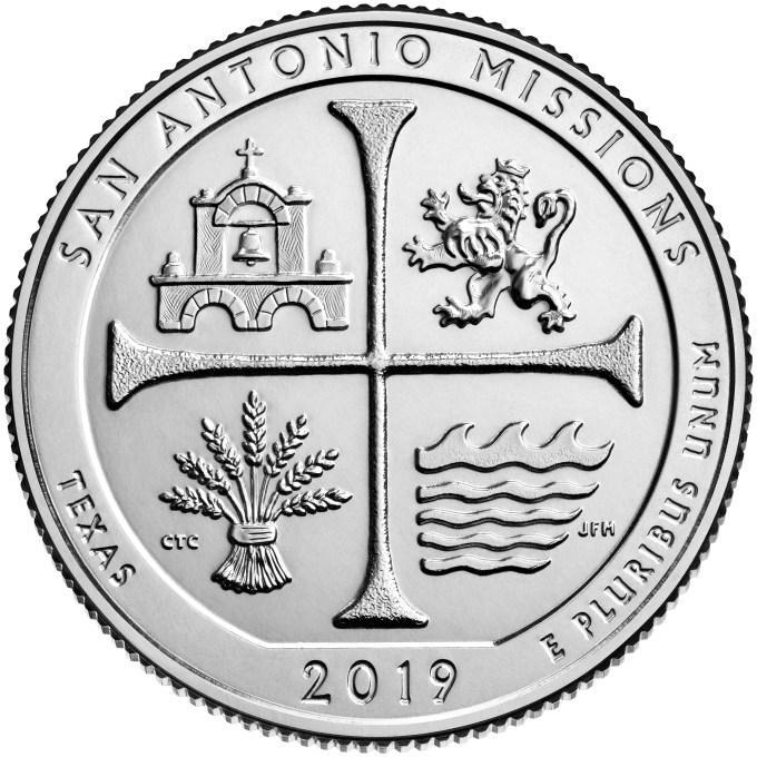 2019 San Antonio Missions ATB Quarter Reverse