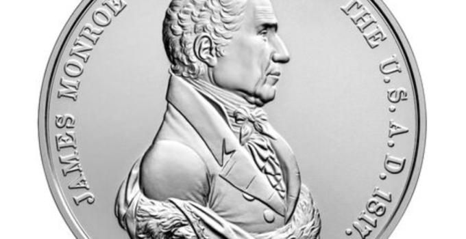 James Monroe Presidential Silver Medal