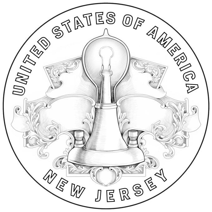 2019 American Innovation Dollar - New Jersey