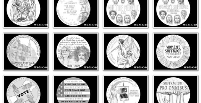 2020 Women's Suffrage Centennial Medal Page 1