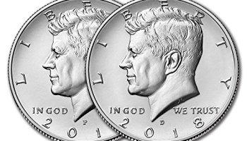 2018 Kennedy Half Dollar P&D