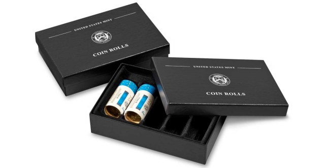 United States Mint Coin Rolls Storage Box (Image Courtesy of the United States Mint)
