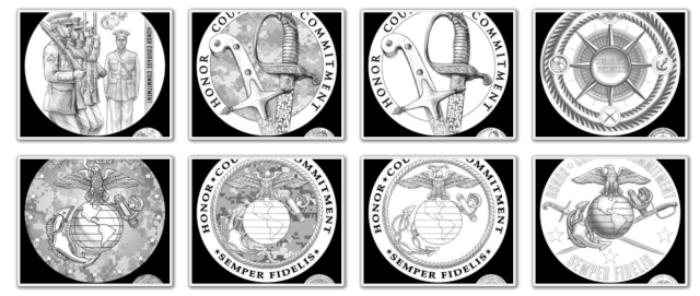 Armed Forces Silver Medal - Marine Corps Page 2 (Images Courtesy of CCAC)