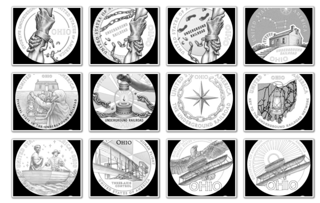 2023 American Innoation Dollar Candidate Designs - Ohio Page 1
