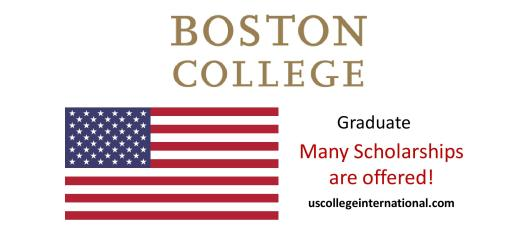 Boston College Scholarships