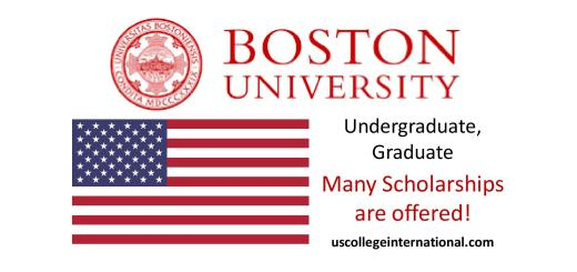 Boston University Scholarships