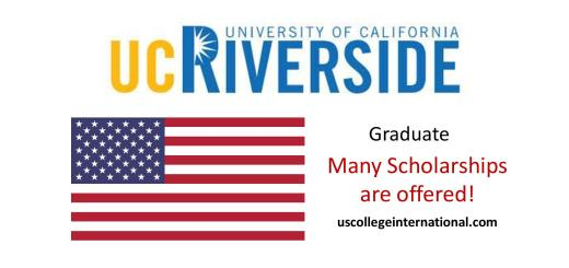 UC Riverside Scholarships