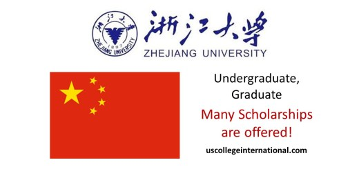 Zhejiang University Scholarships
