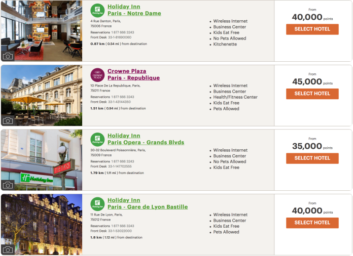ihg paris hotels 1