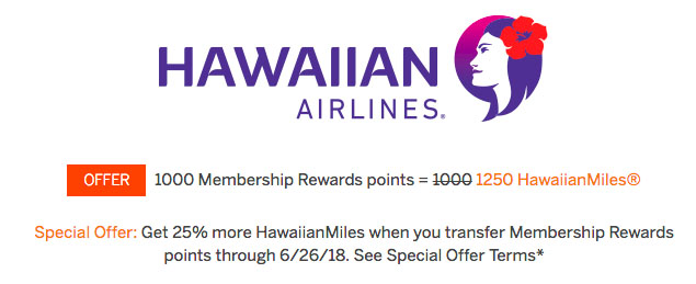 Earn-25-bonus-when-transferring-amex-mr-points-to-hawaiian-airlines