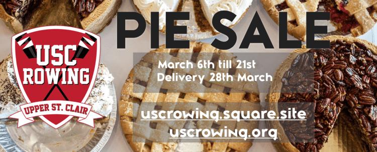 USC Rowing CREW Pie Sale Spring 2020