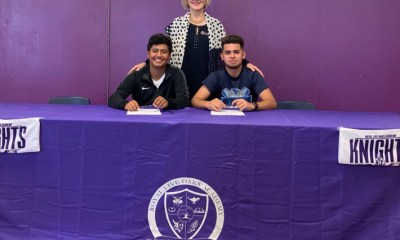 Estrada and Gomez sign with Salk.