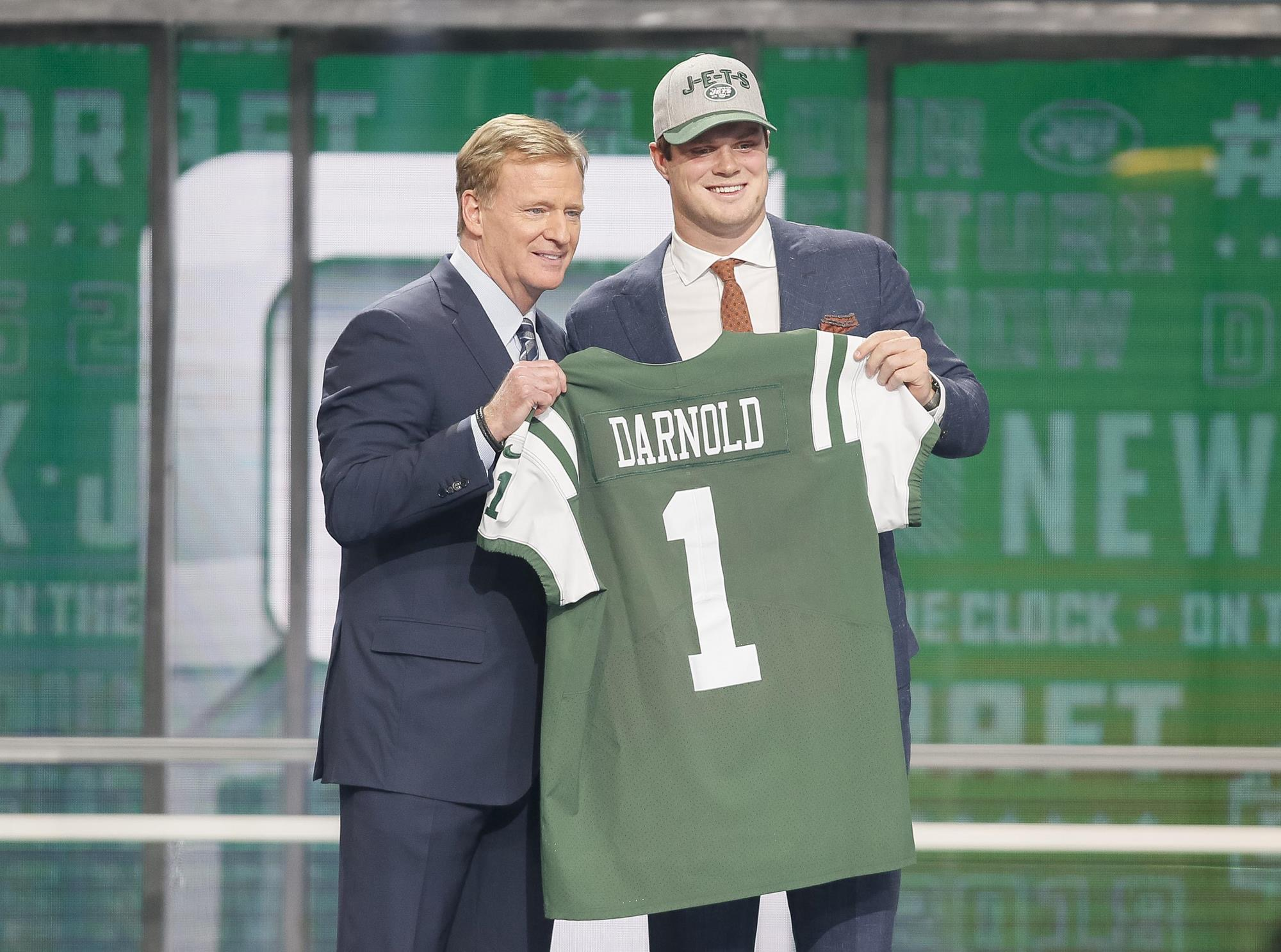 Image result for sam darnold draft
