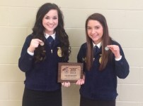 Southeast FFA Job Interview B - Hannah Williams and Daisy Burns