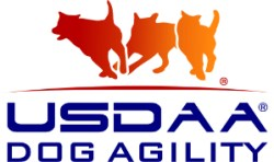 USDAA Logo-ThreeDog with center USDAA-DogAgility - 300