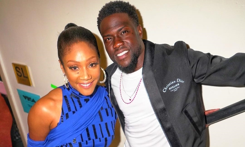Tiffany Haddish Kevin Hart Donald Trump