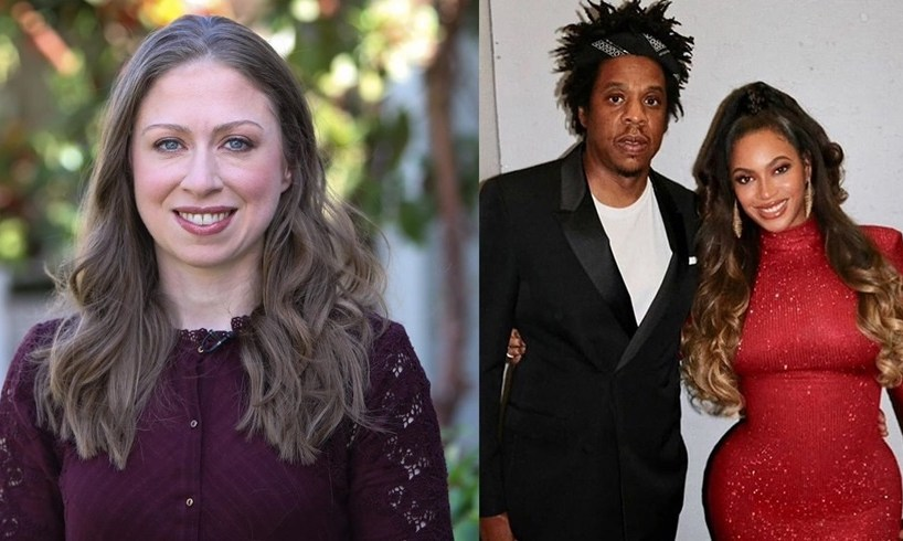 Chelsea Clinton Jay-Z Beyonce Knowles Carter