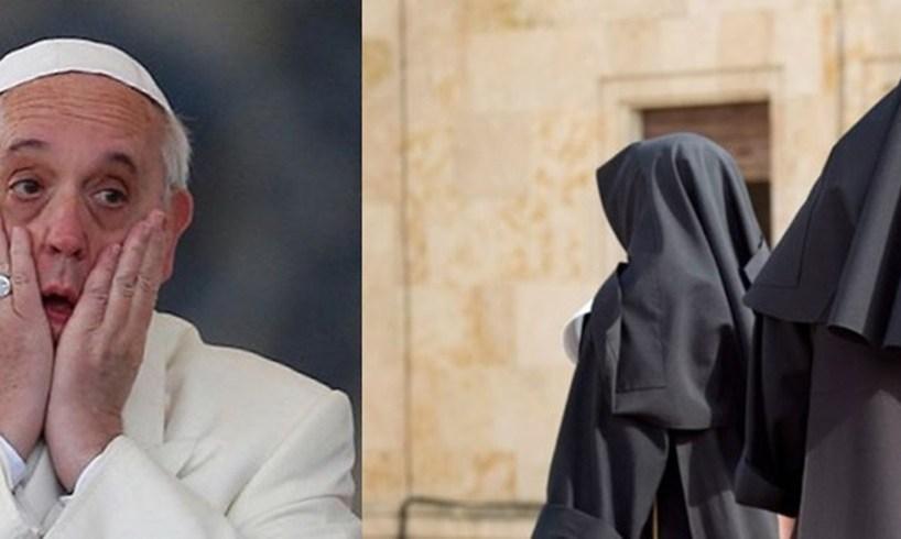 Pope Francis Catholic Nuns Italy