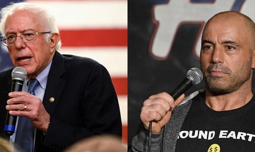 Bernie Sanders Joe Rogan Endorsement For President Drama