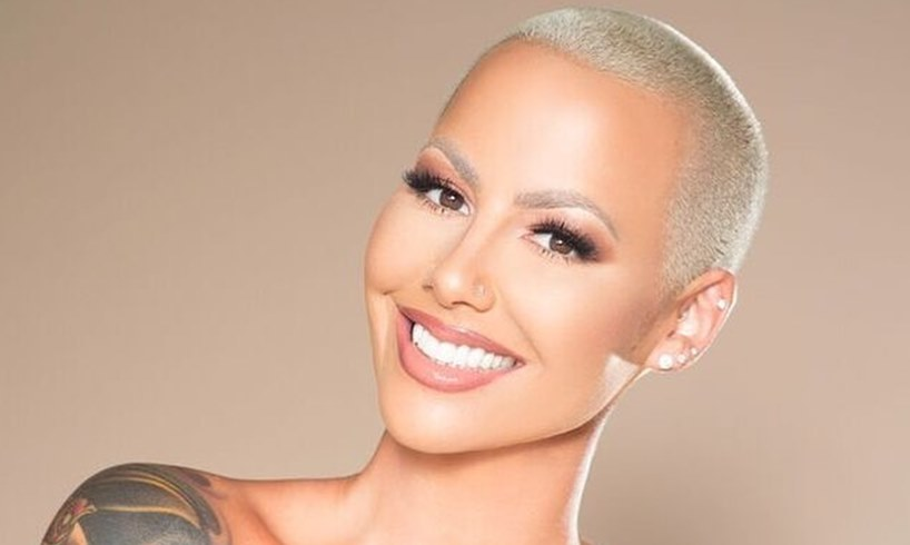 Amber Rose Face Tattoos Sons