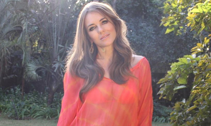 Elizabeth Hurley Ex Makes Public Declaration