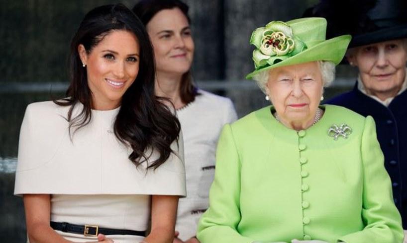 Meghan Markle Queen Elizabeth Prince Harry Charles