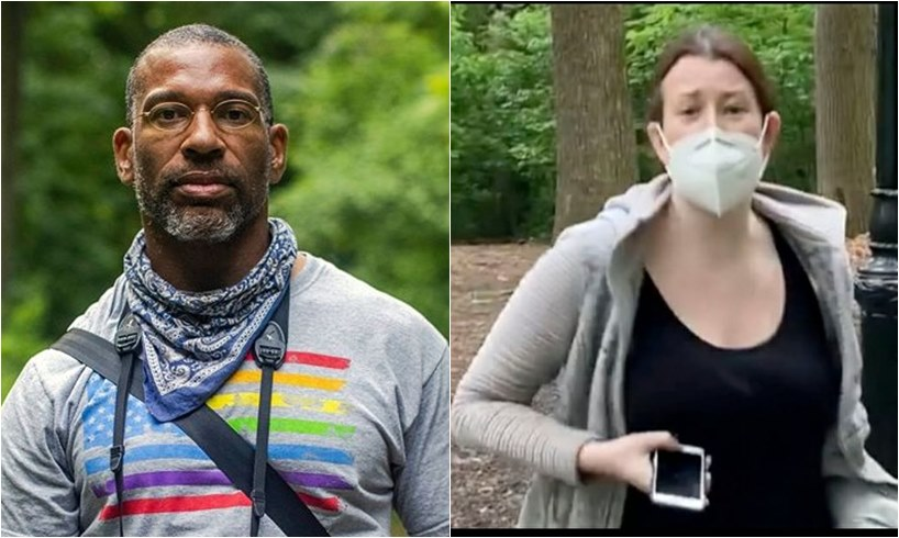 Christian Cooper Amy Central Park 'Karen' Charged