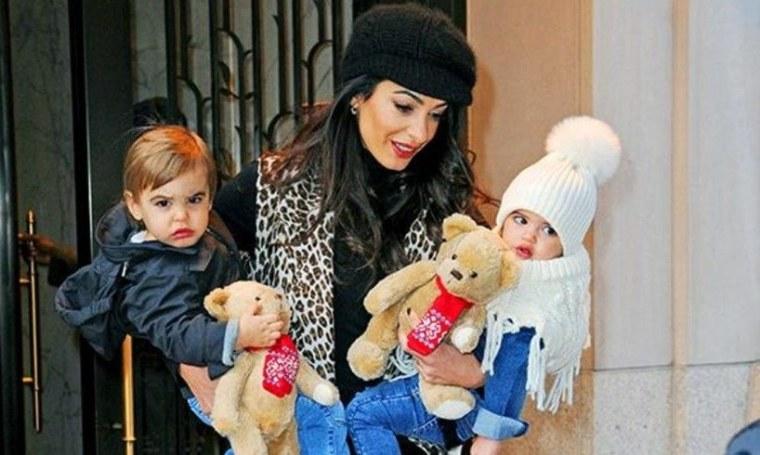 Alexander Amal Clooney Ella George's Family