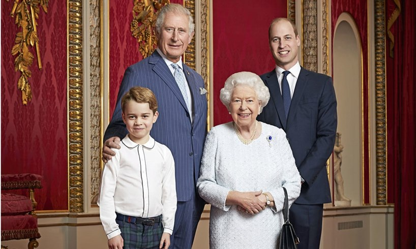 Prince George Charles William Queen Elizabeth Diary
