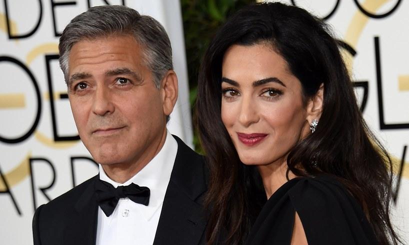 George Clooney Amal Ghislaine Maxwell Jeffrey Epstein Virginia Giuffre