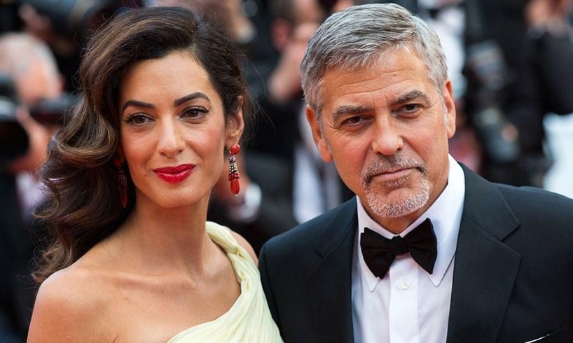 Amal George Clooney Prince Harry Meghan Markle Wedding Rumor