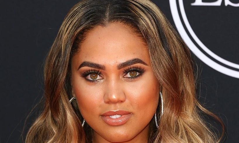 Ayesha Curry Bantu Knots Replace Blonde Wig Stephen