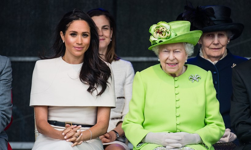 This Queen Elizabeth And Meghan Markle Incident Exposed A Dirty And Humiliating Royal Family Secret