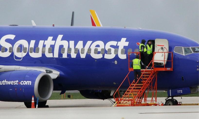 Southwest Airlines Kayla Eubanks Model Top