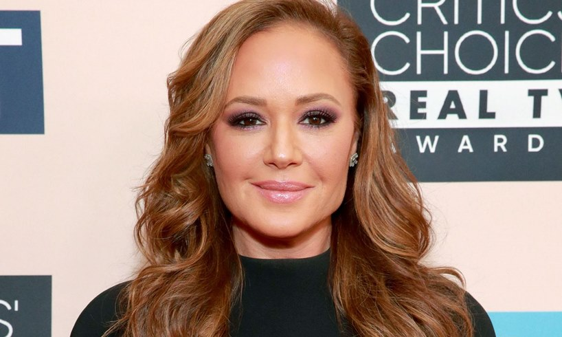 Leah Remini Video With Husband Angelo Pagan At Home