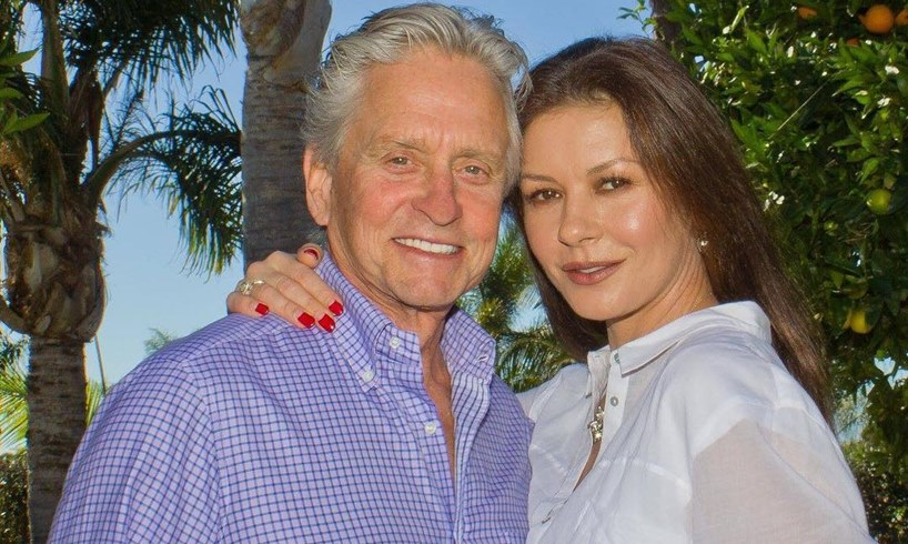 Michael Douglas Catherine Zeta-Jones Milestone Quarantine