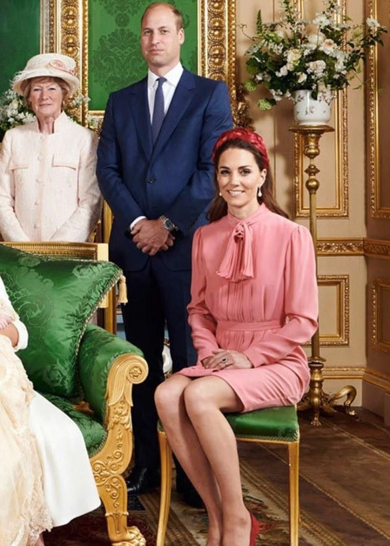 Prince William Kate Middleton Archie Christening