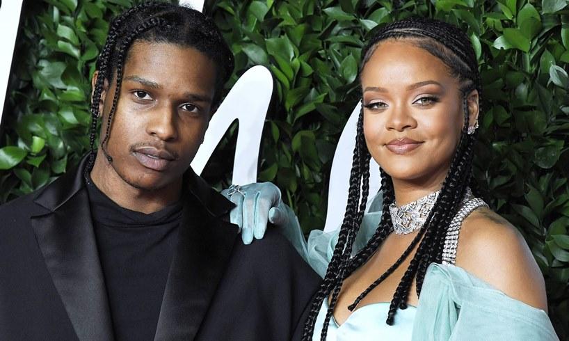 ASAP Rocky Rihanna Barbados Vacation Eminem Apology