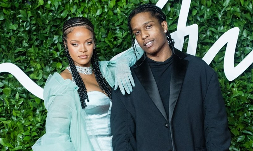 Rihanna ASAP Rocky Dating Together