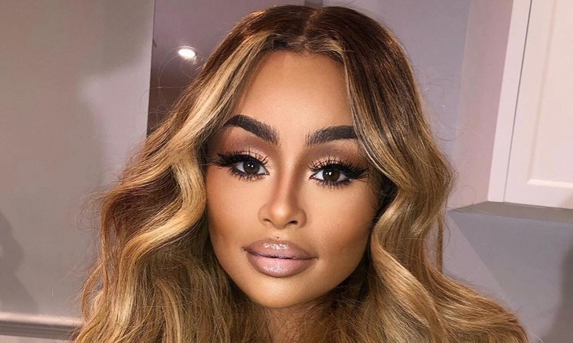 Blac Chyna Debuts New Face