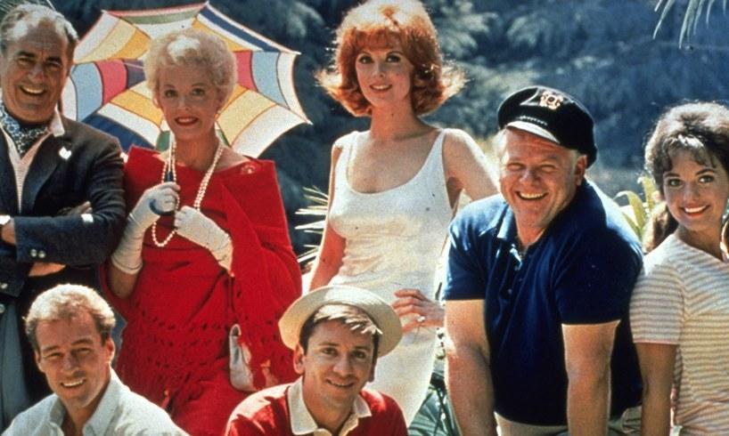 Gilligan's Island Cast Tina Louise Dawn Wells Photo